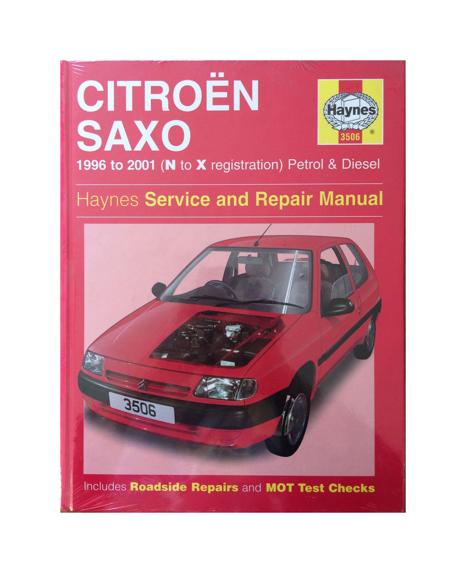 Citroen Saxo N - X reg. Petrol & Diesel - Haynes Service & Repair Manual