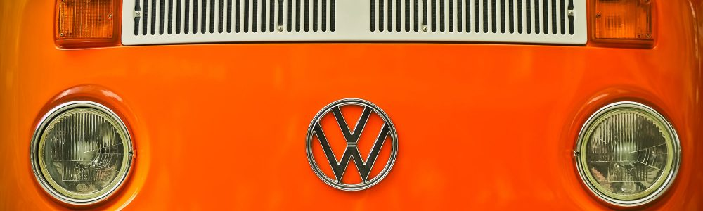 orange VW photo