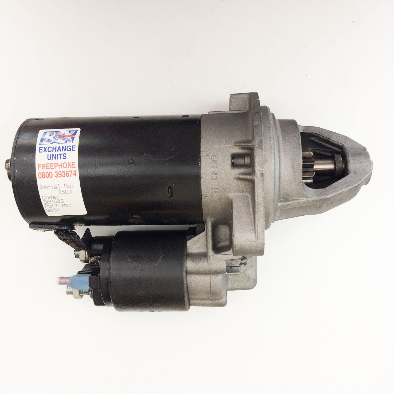 Starter Motor for Volvo 240, 360, 740, 760, 780, 940 - Mollies Classics
